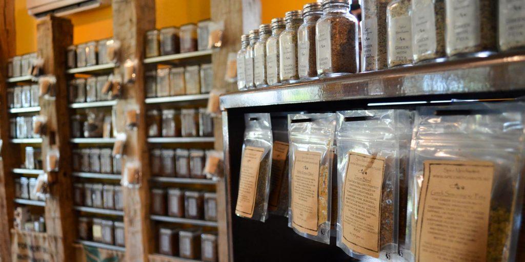 Oils, Salt, and Spices shop