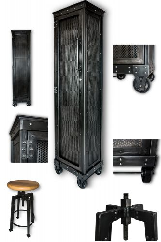 Justin Real Industrial Edge Furniture