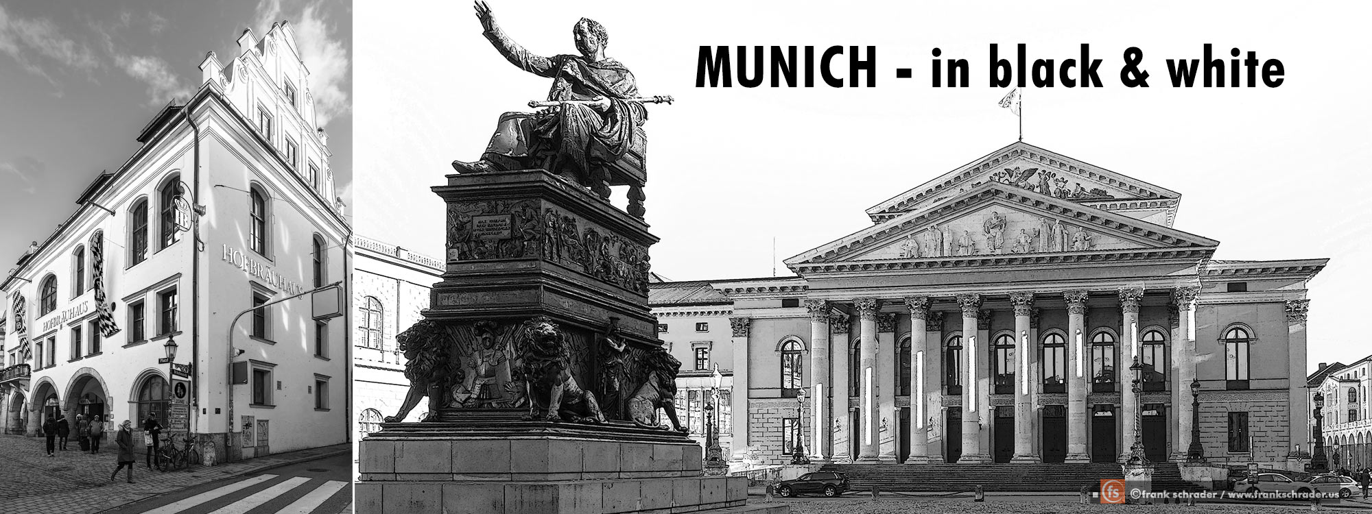 Munich in balck & white