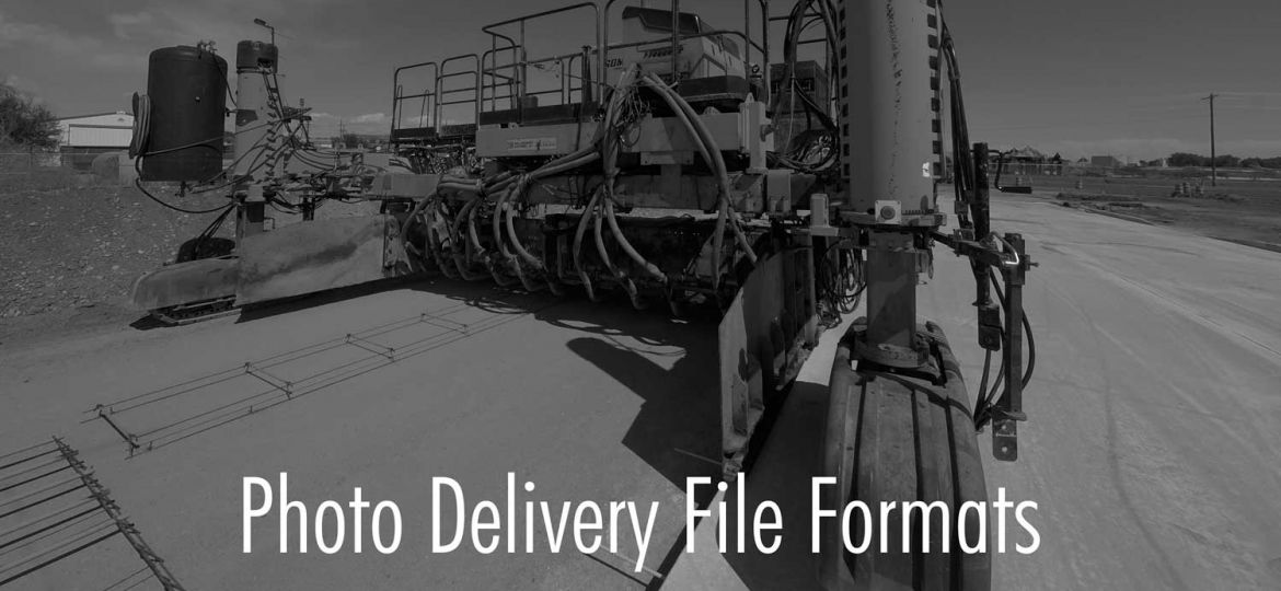 Photo Delivery File Formats