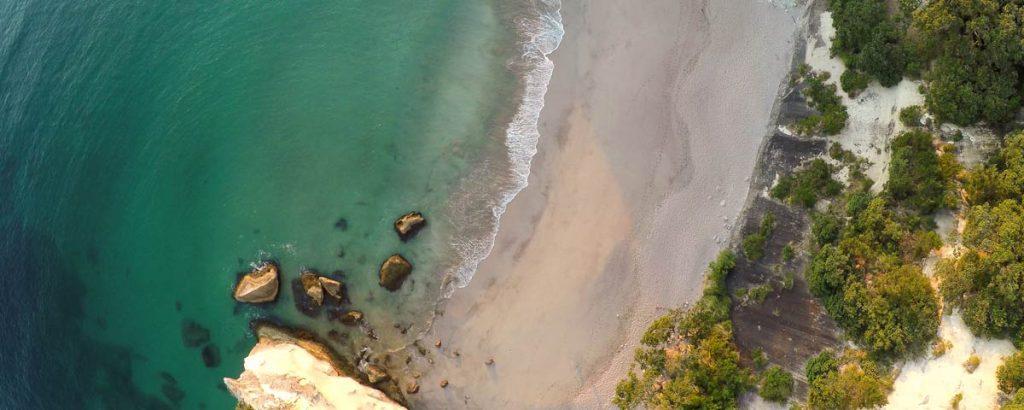 Aerial of a Beach