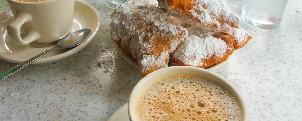 New Orleans Beignet and Coffee