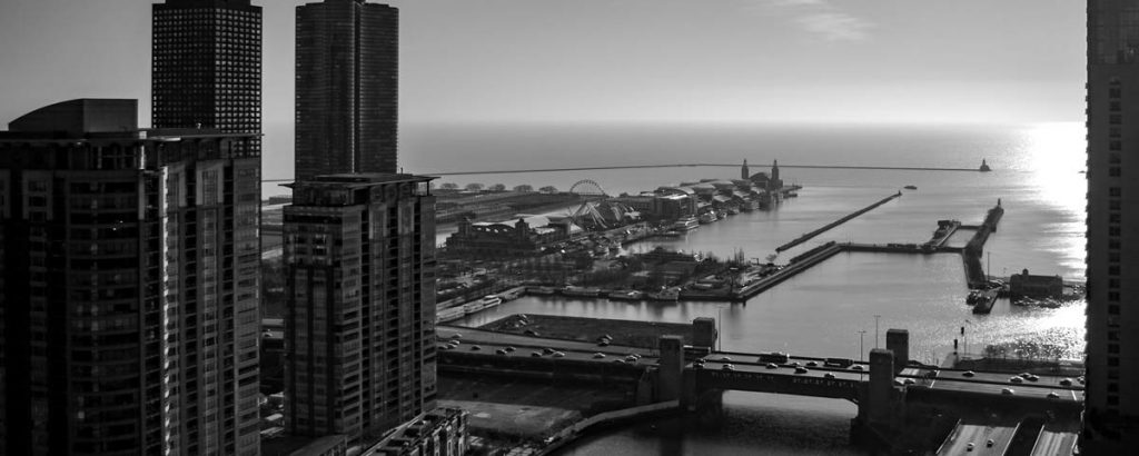 Chicago black-and-white