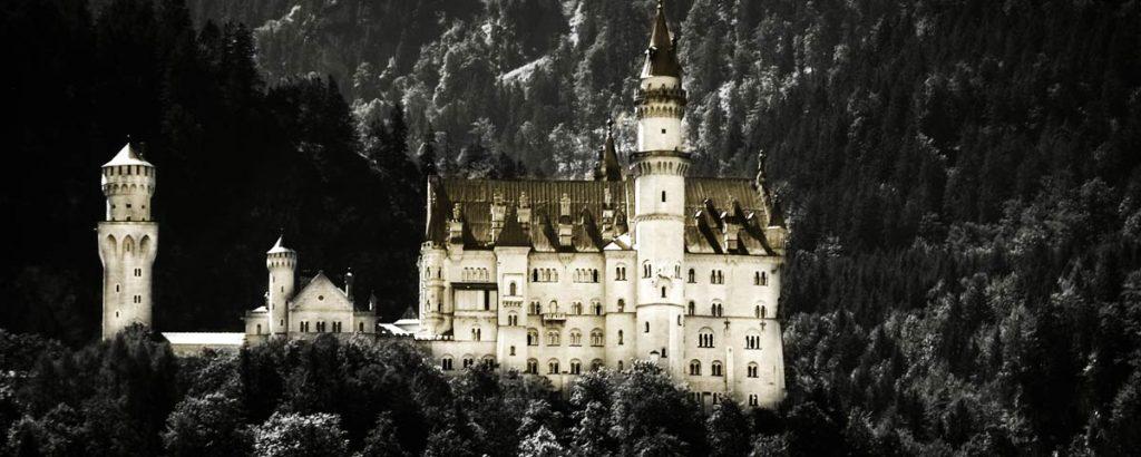 Neu Schwanstein castle in Bavaria