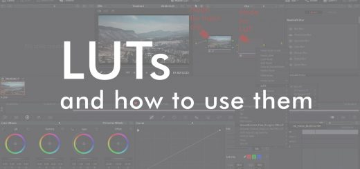 LUTs in color grading -- what are they good for and how to use them