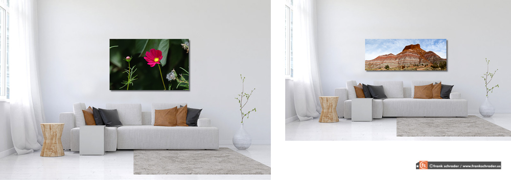 Room setting living room 001 (Simulation)