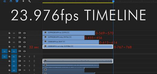 Working on a 23.976 Timeline