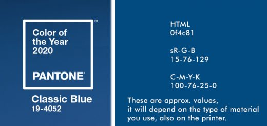 PANTONE 19-4052 CLASSIC BLUE Color of the Year 2020