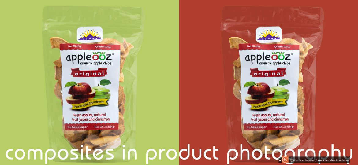 Product Photography Composites: breaking up the parts into layers and modify them