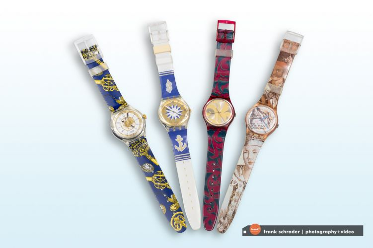 Product / Commercial Photography -- Watches [Swatch Collectibles]