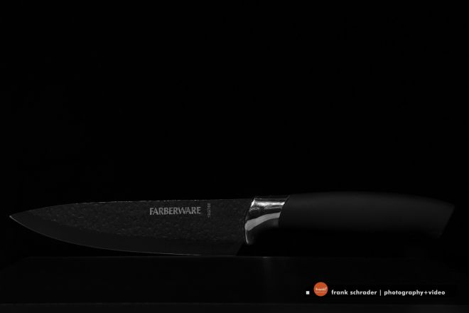 Product / Commercial Photography -- Black on Black