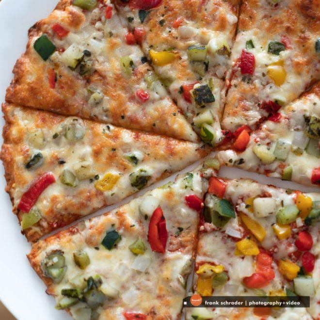 Artisan Vegetarian Pizza