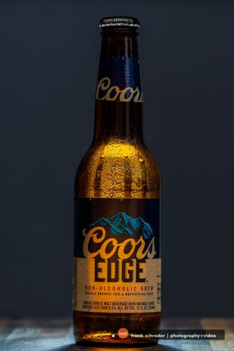 Moody Lighting -- Coors Edge Non-Alcoholic Beer