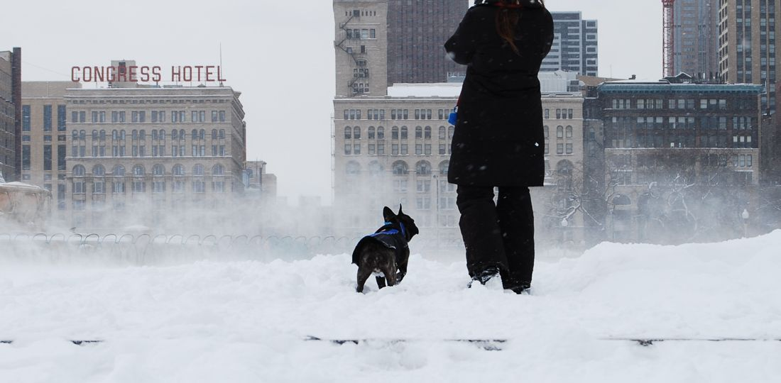 Storytelling - a Chicago blizzard