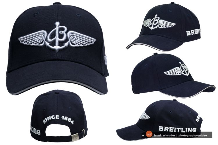 Breitling Cap / composite on white