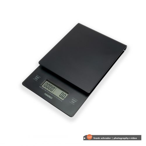 The Hario V60 Drip Scale can measure in increments of 0.1g